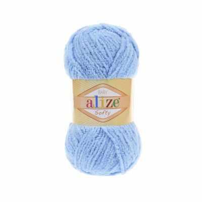 Пряжа Alize Пряжа Alize Softy Цвет.40 Голубой