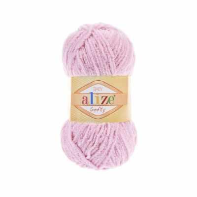 Пряжа Alize Пряжа Alize Softy Цвет.98 Розовый