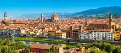 В-060078 Панорама Флоренции, 600 деталей - Пазлы