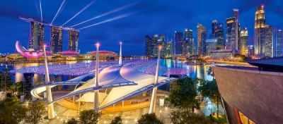 В-060139 Сингапур, 600 деталей - Пазлы