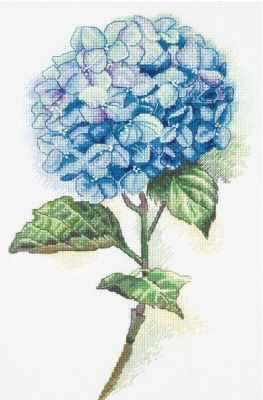 "C-1988 ""Голубая гортензия"""