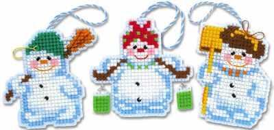 Набор для вышивания Риолис (Сотвори Сама) 1681АС Новогодние игрушки