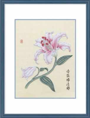 2801301 Лилия  набор (Xiu Crafts) - Наборы для вышивания «Xiu Crafts»