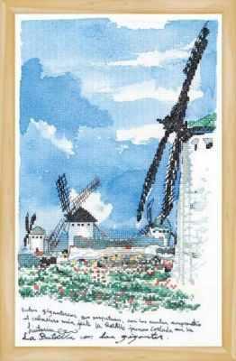 2801804 Ветряная мельница набор (Xiu Crafts) - Наборы для вышивания «Xiu Crafts»