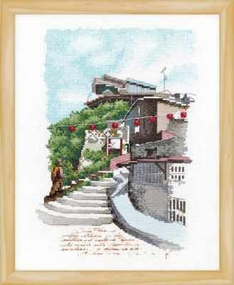 2801801 В окрестностях Джиуфен  набор (Xiu Crafts) - Наборы для вышивания «Xiu Crafts»