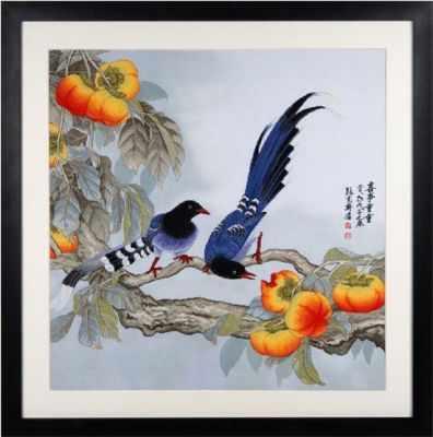 2800102 Сороки и Хурма набор (Xiu Crafts) - Наборы для вышивания «Xiu Crafts»