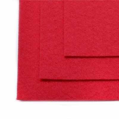 Ткань IDEAL TBY.FLT-H1.610 Фетр листовой жесткий, темно-розовый