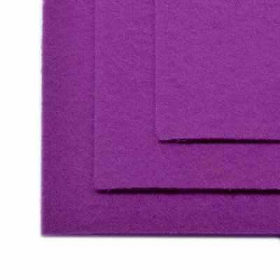 Ткань IDEAL TBY.FLT-H1.619 Фетр листовой жесткий, сирень