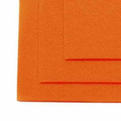 Ткань IDEAL TBY.FLT-H1.645 Фетр листовой жесткий, бл.оранжевый