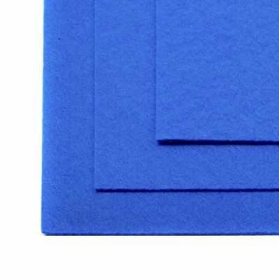 Ткань IDEAL TBY.FLT-H1.683 Фетр листовой жесткий, василек