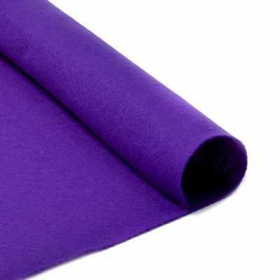Ткань IDEAL TBY.FLT-S1.620 Фетр листовой мягкий, фиолетовый