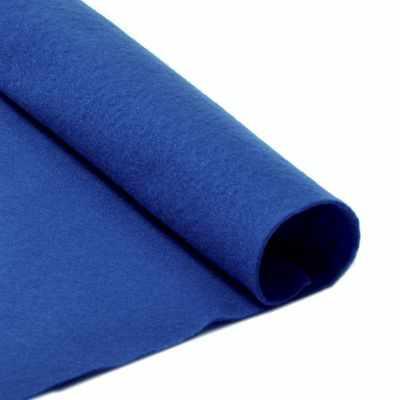 Ткань IDEAL TBY.FLT-S1.675 Фетр листовой мягкий, 675 синий