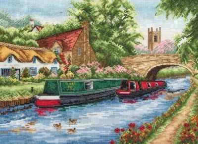 Набор для вышивания Anchor PCE0891 Водный канал