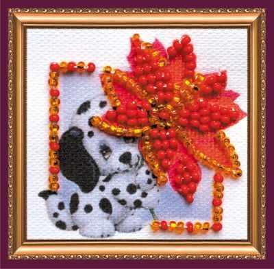 Набор для вышивания Абрис Арт АММ-054 Аленький цветочек - Магнит мини