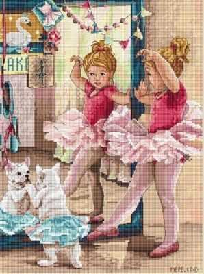 К-74 Балерины (Мережка) - Наборы для вышивания «Мережка»