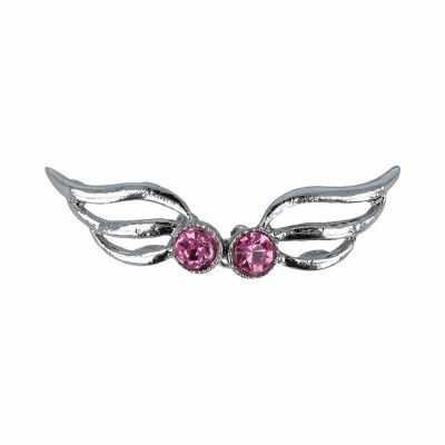 Швейная фурнитура Micron GH 1049 Застёжка Micron №04 никель (розовый)