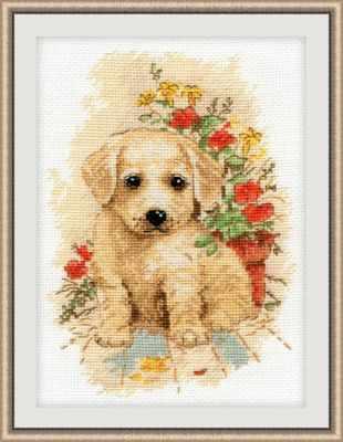 Набор для вышивания Овен 998 Мой щенок