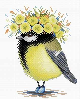 Набор для вышивания МП Студия М-203 Солнечная пташка ранняя пташка