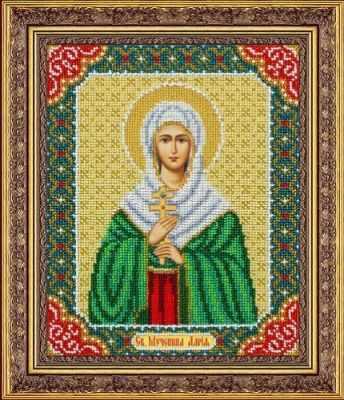 Б1085 Св. Мученица Дария (Паутинка) - Наборы для вышивания икон «Паутинка»