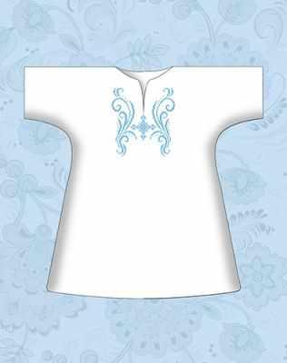 Заготовка для вышиванки Каролинка КР-03 Сорочка детская крестильная х/б (Каролинка)