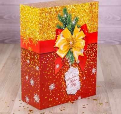 Подарочная коробка - 2450835 Коробка складная