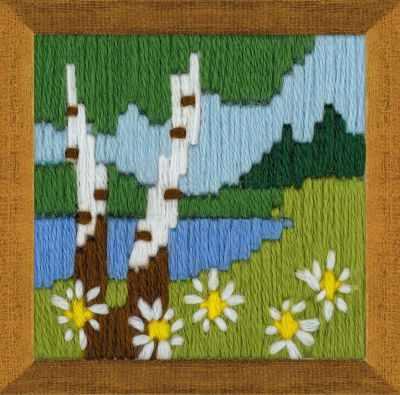 Набор для вышивания Риолис (Сотвори Сама) 1651 Лесное озеро