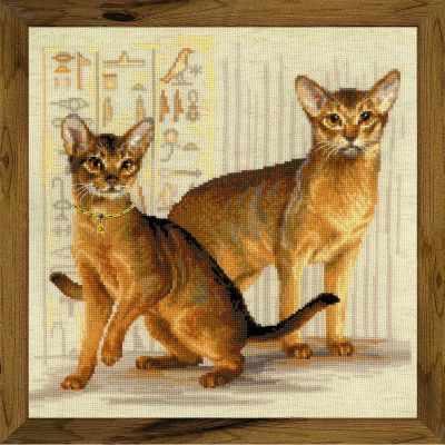 Набор для вышивания Риолис (Сотвори Сама) 1671 Абиссинские кошки
