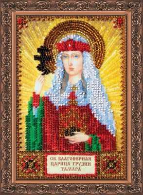 ААМ-062 Набор для вышивания бисером икона  Св. Алла  - Наборы для вышивки икон «Абрис-Арт»
