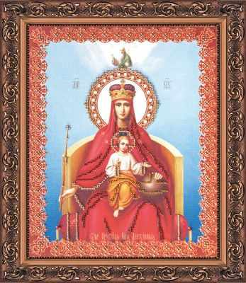 АВ-030  Божья Матерь Державная  - Наборы для вышивки икон «Абрис-Арт»