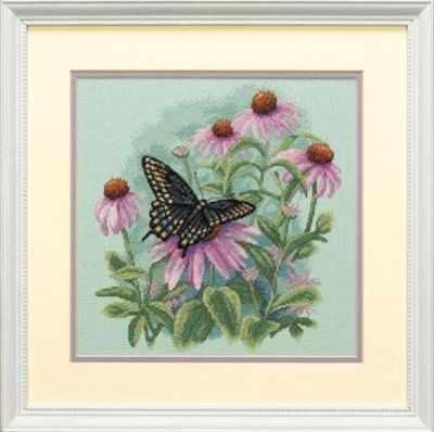 Фото #1: 35249-DMS Бабочка и ромашки