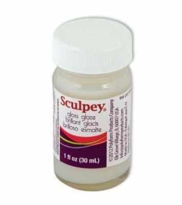 ASG33G  Sculpey  Glossy Glaze лак глянцевый 30 мл - Материалы и специальные составы