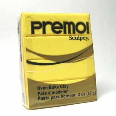 Sculpey Premo полимерная глина PE02 5525 ярко-желтый