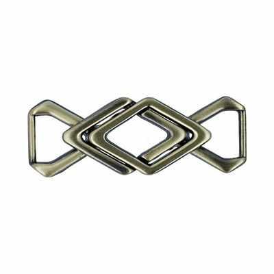 Швейная фурнитура Micron GB 1271 Пряжка Micron №12 шлифованная бронза
