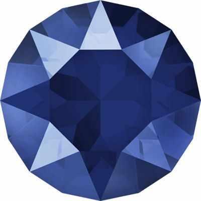 Стразы SWAROVSKI 1088 SS39 Сваровски Crystal AB 8.16 мм, синий лак. (royal blue L110S)