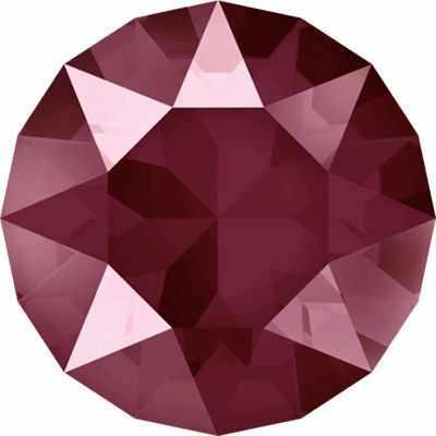 1088 SS39 Стразы  Сваровски  Crystal AB 8.16 мм, т.красный лак.(dark red L108S) - Стразы для изготовления бижутерии