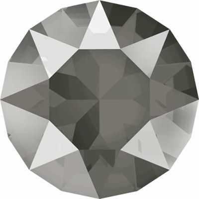 1088 SS39 Стразы  Сваровски  Crystal AB 8.16 мм, т.серый лак.(dark grey L111S) - Стразы для изготовления бижутерии