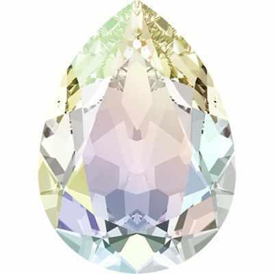 4320 Cтразы Сваровски Crystal AB 18 х 13 мм, перламутр (crystal AB)