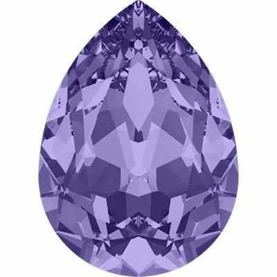 4320 Стразы Сваровски 18 х 13 мм, св.фиолетовый (tanzanite 539)