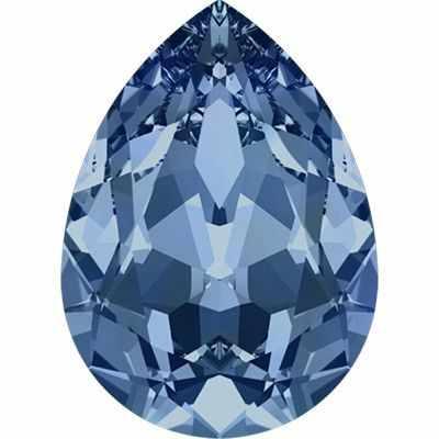4320 Стразы Сваровски 18 х 13 мм, т.синий (montana 207)