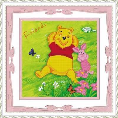80129 Винни пух (Honey home) - Мозаика «Honey Home»