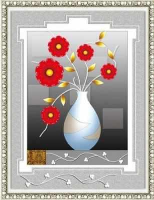 80445 Цветы в белой вазе (Honey home) - Мозаика «Honey Home»