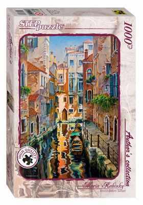 79536 Мозаика  puzzle  1000  Солнечная аллея в Венеции  (Авторская коллекция) - Пазлы