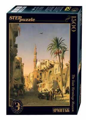 83207 Мозаика  puzzle  1500  Улица Эзбикия в Каире (Русские музеи) - Пазлы