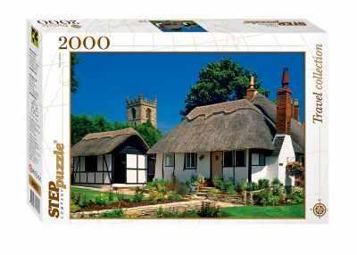 84023 Мозаика  puzzle  2000  Коттедж  - Пазлы