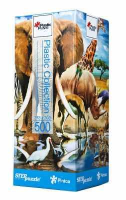98011 Мозаика  puzzle  500  Мир животных  (Пластиковый пазл) - Пазлы
