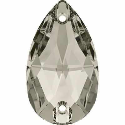 3230 Стразы пришив. Сваровски Crystal AB 18 х 10.5 мм, св.серый (001 SATIN)