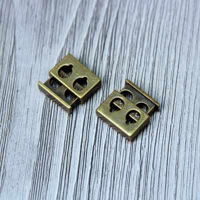 Швейная фурнитура Micron A 1189 Зажимы, бронза №05