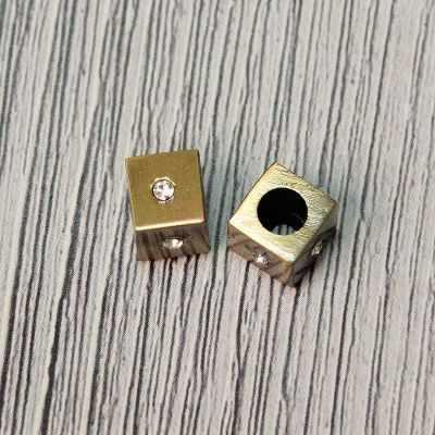 Каталог Micron GB 1260 Концевики декоративные, шлифованная бронза №12