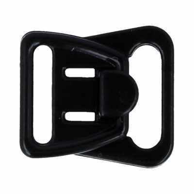 Фурнитура для белья TORIONI ZPT-02 Фурнитура TORIONI застежка для бретелей 12 мм черный