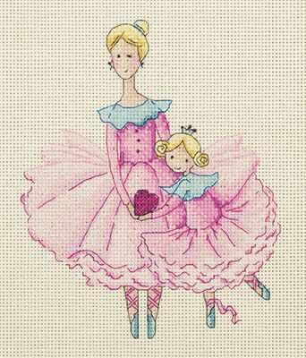 8-218 Мама и дочка